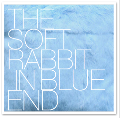 THE SOFT RABBIT IN BLUE END