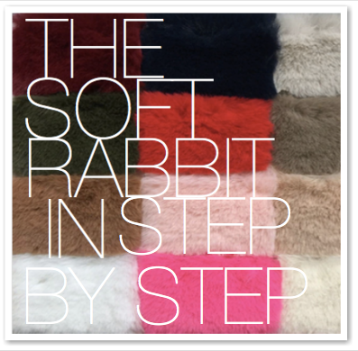 THE SOFT RABBIT IN STEP BY STEP