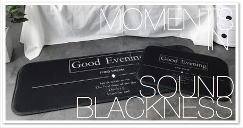 MOMENTS IN SOUND BLACKNESS