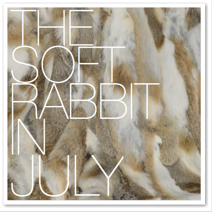 THE SOFT RABBIT IN JULY