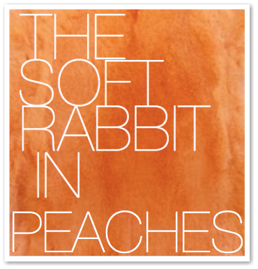 THE SOFT RABBIT IN PEACHES