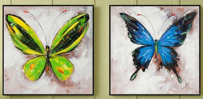 """TWO TOUCH SPARKLE BUTTERFLY"""