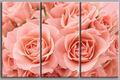 """TWO: A ONE LARGE OTHER NOT. PINK TIME ROSES"""