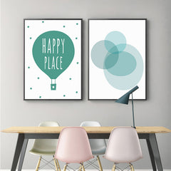 """HAPPY PLACE WITH BUBBLES"""