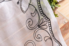 """LACE BUTTERFLY"" IN WHITE DOVE"