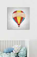 """A BANDED COLORFUL BALLOON: DOUBLE"""