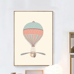 """HELICOPTER BALLOON"""