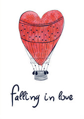 """TIED-UP HEART BALLOON"""
