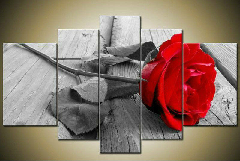 """RED ROSE ON PIER"""