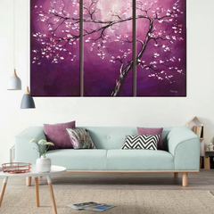 """THE YOUNG PURPLE TREE"""