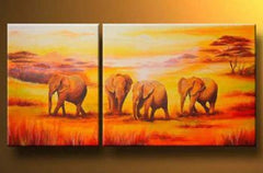 """FOUR MIGRATING ELEPHANTS: 'O TWENTY PREP"""