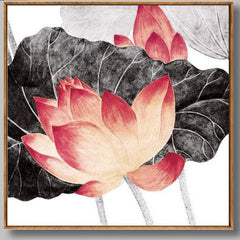 """BRING THE LOTUS THROUGH BLACK CLOUD LEAF FLOWER"""