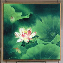 """DOLED EMERALD LILY PAD"""