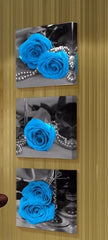 """BLUE ROSES AND PEARLS"""