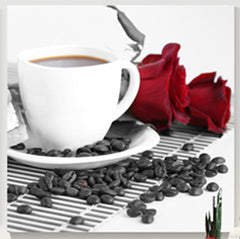"""COFFEE WITH ROSES"""