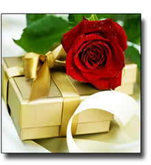 """GOLDEN GIFTS OF RED ROSES"""