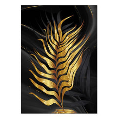 """WE IN SHADOWS: GOLDEN PALM LEAF"""