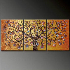 """MOSAIC OF A TREE IN GOLD"""