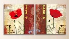 """KNOW YOUR THERE. RED POPPY FLOWER"""