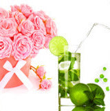"""PINK BOUQUETS AND DRINKS"""