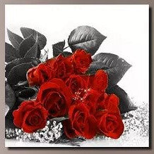 """RED BOUQUETS FROM A DIFFERENT PLACE"""