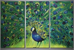 """THE FLOURISHING PEACOCK"""