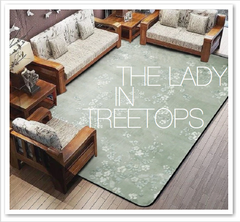 THE LADY IN TREETOPS