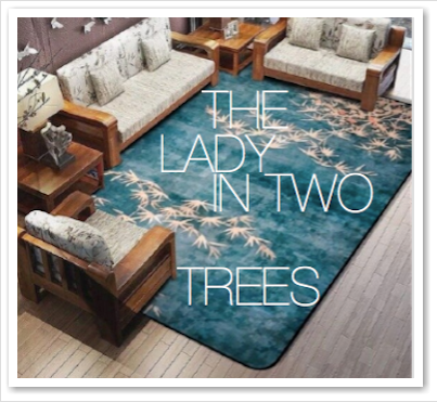 THE LADY IN TWO TREES