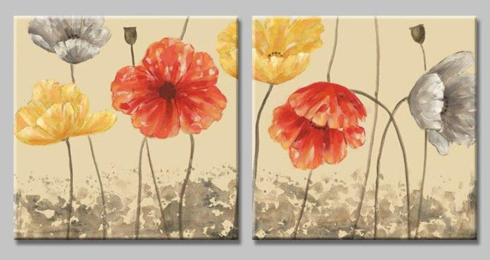 """MAY FIVE COVERED POPPY FLOWER"""