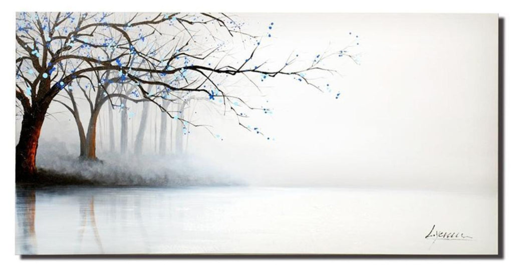 """STILL SEE TREES THROUGH FOG TREE"""