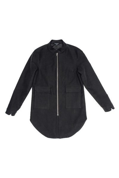 Split Coat II - Black