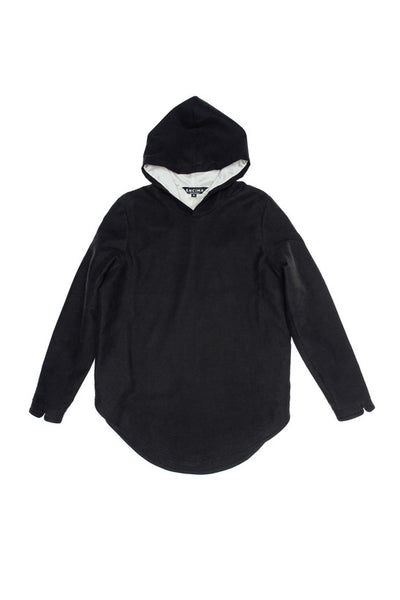 Hooded Pullover - Black