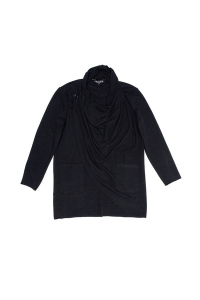 Cross Cardigan - Black