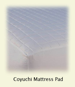Mattress Pad, Organic Quilted Cotton