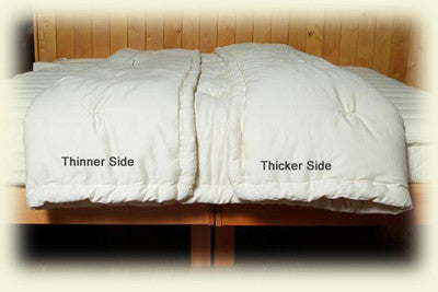 Comforter, Eco-Wool, Dual Weight