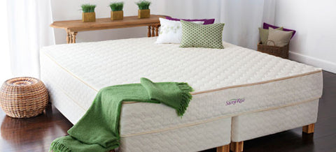 "Mattress, Organic Dunlop, ""Tranquility"", by Savvy Rest"