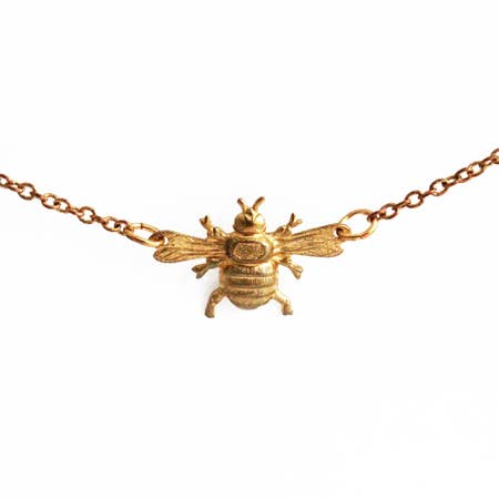 Mini Bee Necklase
