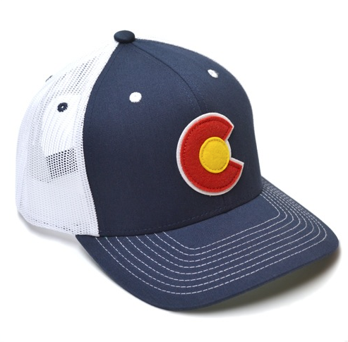 Colorado Applique Trucker Hat
