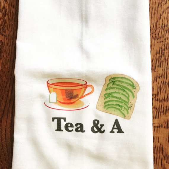 Grapestreet Greatings Tea Towels