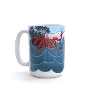Bento The Octopus Ceramic Mug by Two Little Fruits
