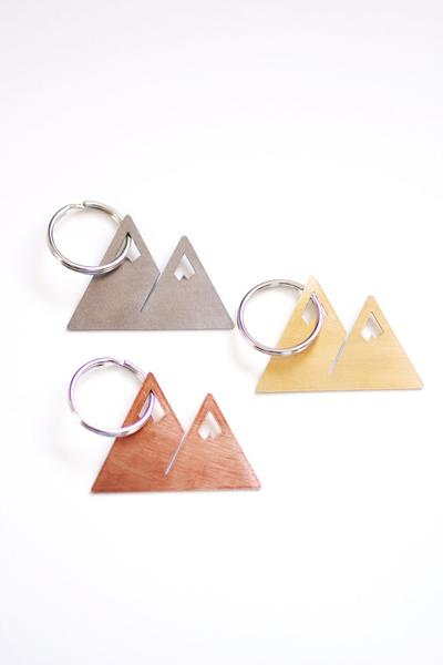 Mountains Keychain