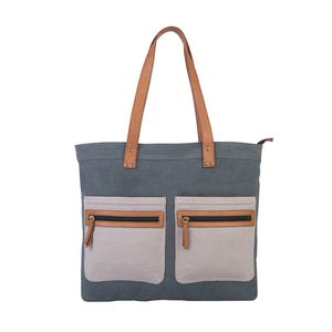 Hyde Up-Cycled Canvas Tote