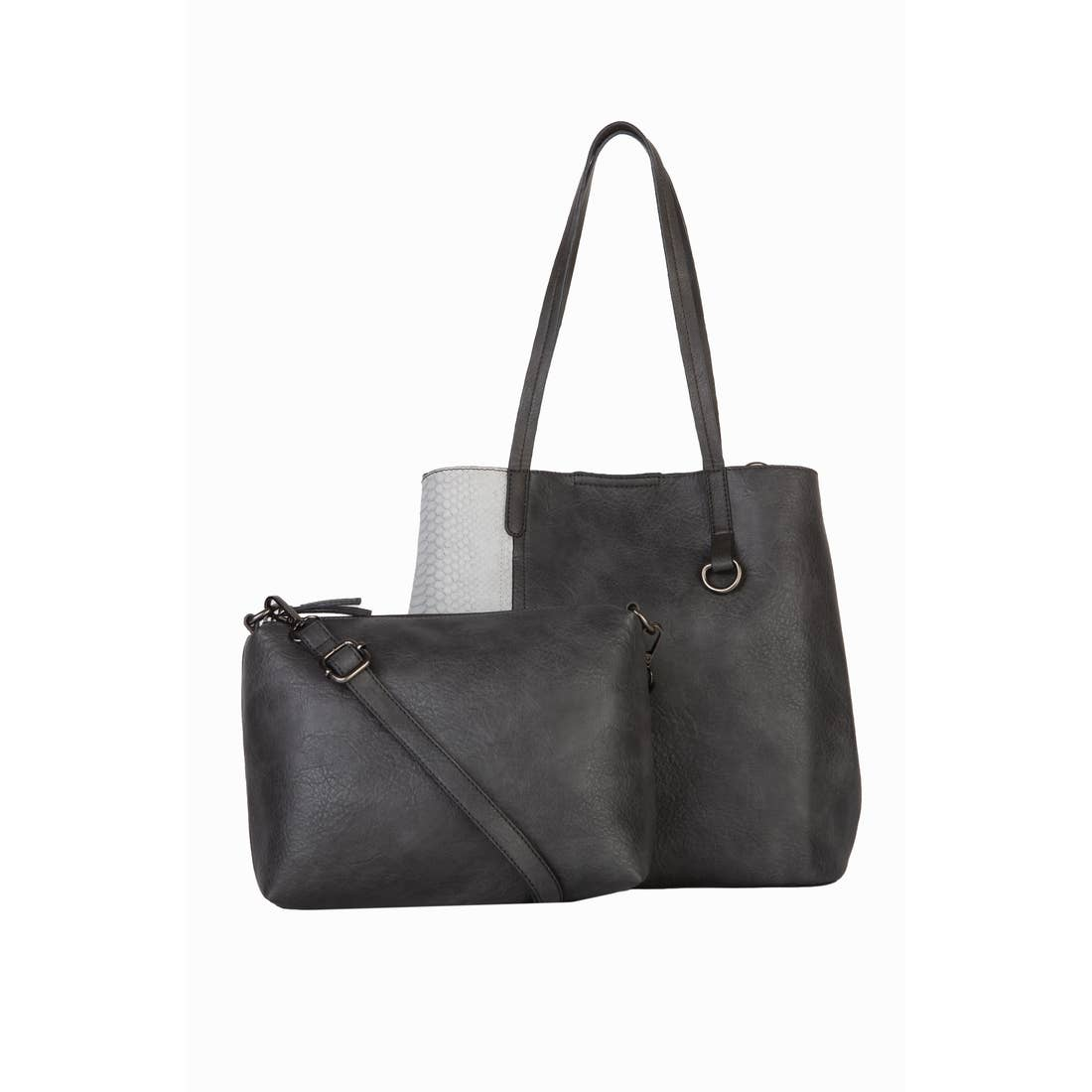 Mischa Vegan Convertible Tote Set