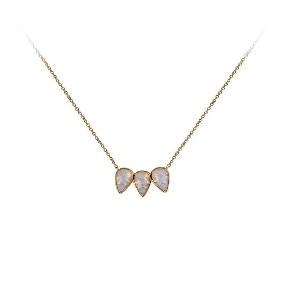 Trio Guiding Gems Necklace