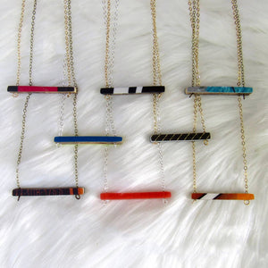 Freerider Ski Necklace