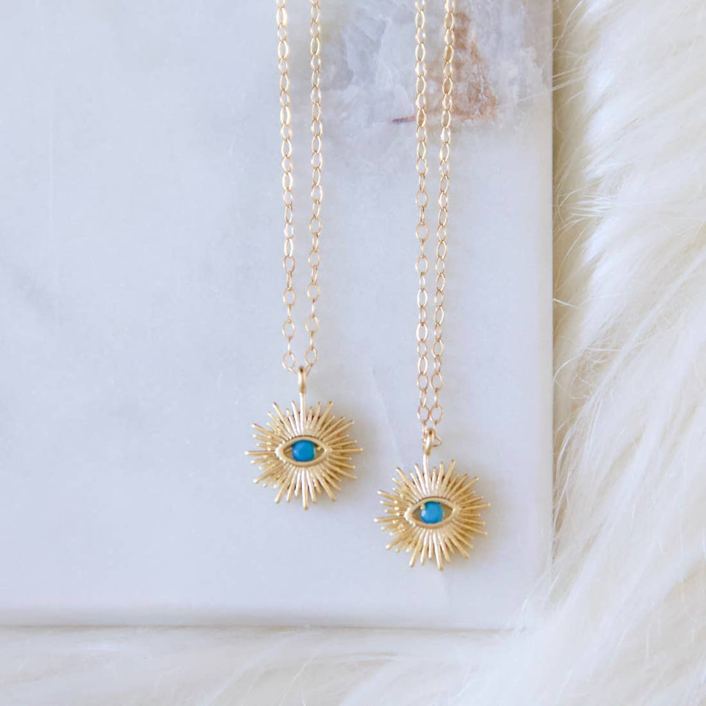Evileye Sunburst Necklace