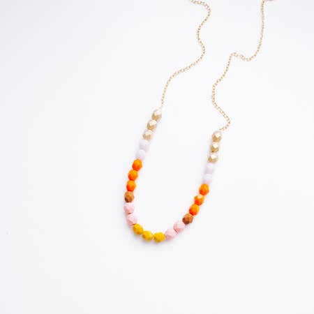 Single Strand Bead Necklace