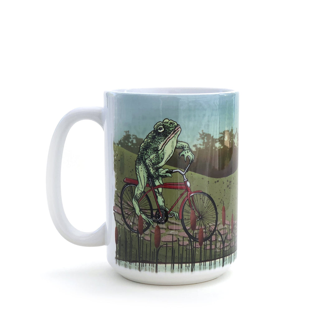 Toadster By the Lake Ceramic Mug by Two Little Fruits