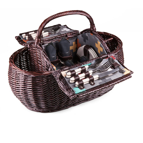 Gondola Basket - Elegant Touch Gourmet and Wine