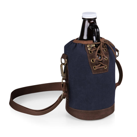 Growler Tote with Growler - Elegant Touch Gourmet and Wine
